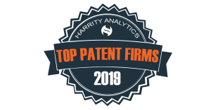 2019 top patent firms logo
